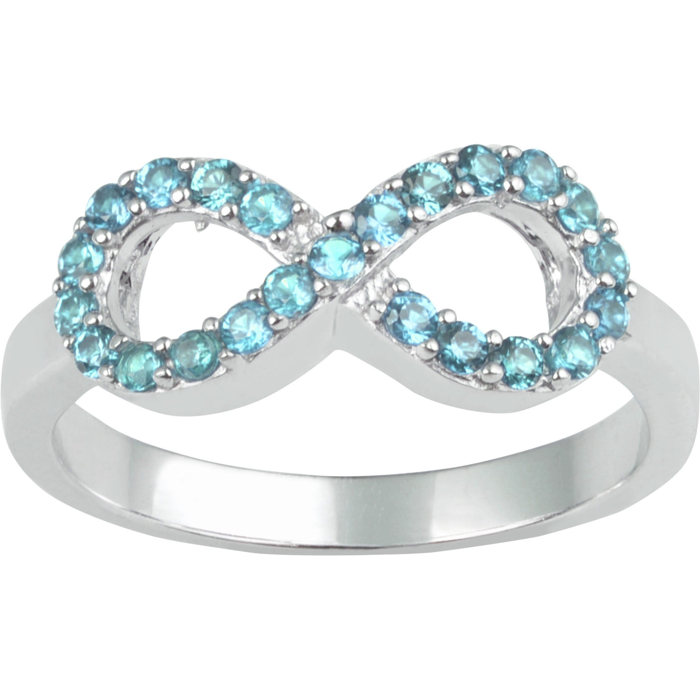 Journee collection Sterling Silver Cubic Zirconia Infinit...