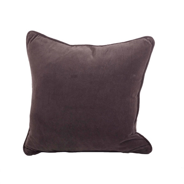 Classic Velvet Design Down Filled Decorative Throw Pillow - Free Shipping Today - Overstock.com ...