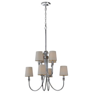 Ren Wil Laurier 8-light Chrome Chandelier