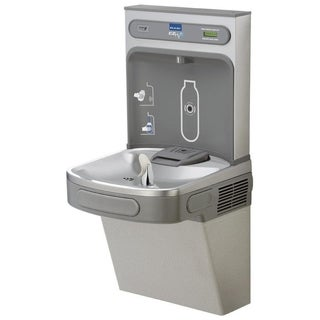 Elkay EZ H2O EZS8WSL Light Grey Granite Drinking Fountain