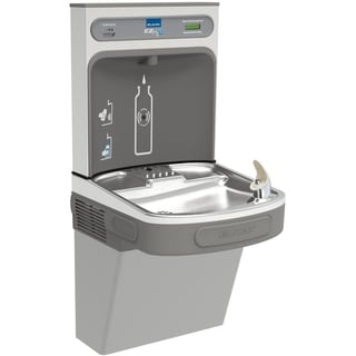Elkay EZ H2O Light Grey Granite Drinking Fountain LZS8WSLK