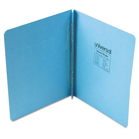 Universal Pressboard Light Blue Report Cover (Pack of 8)