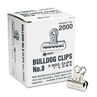 X-ACTO Steel Bulldog Clips (Pack of 2)