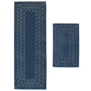 Herringbone 2-Piece Small Rug Set
