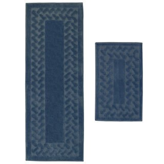 Herringbone 2-piece Small Rug Set (1'10 x 3'6)
