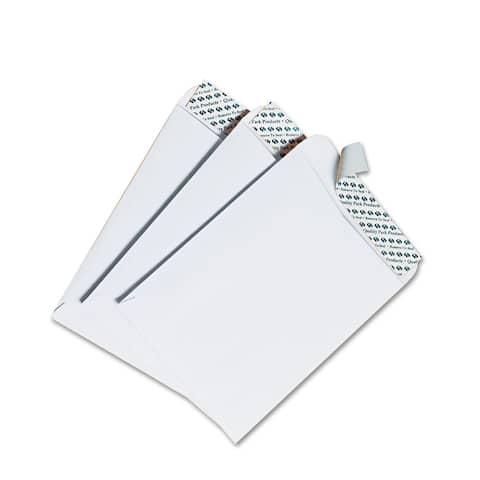 Quality Park White Redi-Strip Catalog Envelope