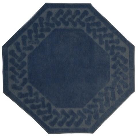 Herringbone Rug Collection Octagon (4'x4')