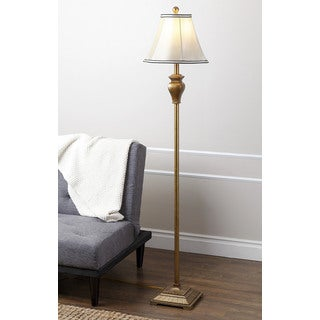 ABBYSON LIVING Elena Gold Floor Lamp