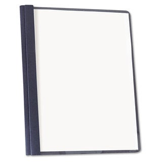 Universal Dark Blue Clear Front Report Cover (Box of 25)