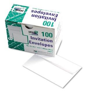 Quality Park Greeting Card/ Invitation White Envelopes (Pack of 2)