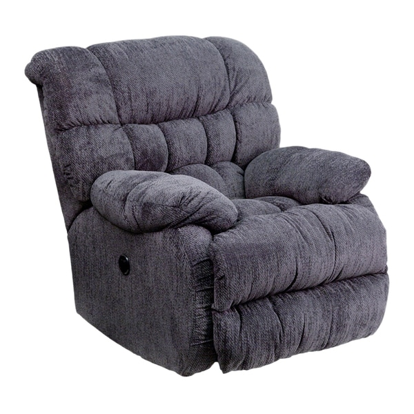 Contemporary Columbia Microfiber Push Button Power Recliner
