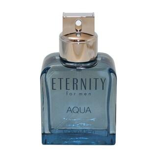 Calvin Klein Eternity Aqua Men's 3.4-ounce Eau de Toilette Spray (Unboxed)