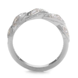 Platinum 3/8ct TDW Diamond Braided Estate Ring (G-H, VS1-VS2) (Size 7)|https://ak1.ostkcdn.com/images/products/10085580/P17228472.jpg?_ostk_perf_=percv&impolicy=medium