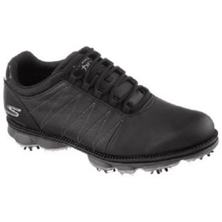 Skechers Men's Black Go Golf Pro Matt Kuchar Golf Shoes