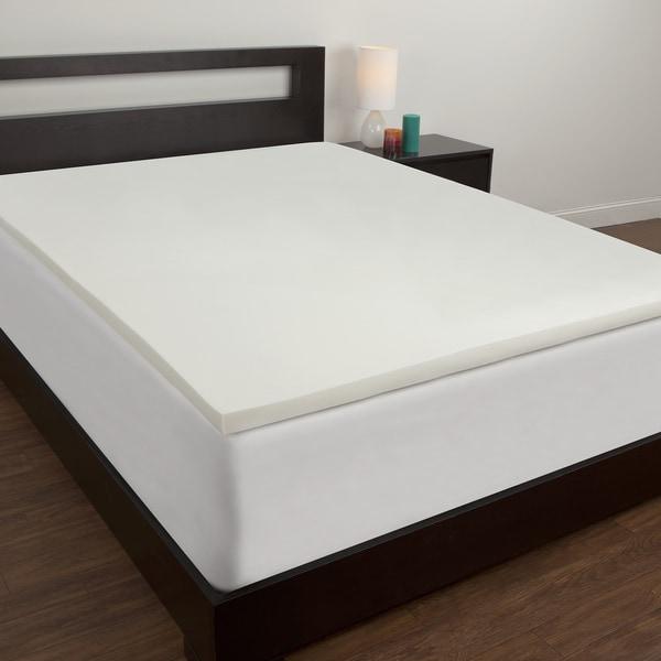 Shop Comfort Revolution Twin Xl Size Dorm Memory Foam