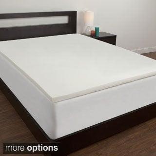 Comfort MemoriesTwin XL-size Dorm Memory Foam Mattress Topper