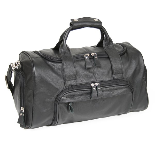 b060c6eb5c Shop Royce Leather Genuine Leather 17-inch Sports Duffel Bag - On Sale -  Free Shipping Today - Overstock - 10085656