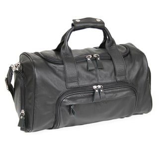 Royce Leather Genuine Leather 17-inch Sports Duffel Bag