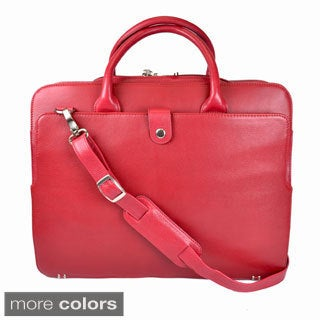 Royce Leather 'Seraphina' Genuine Leather Executive 15-inch Laptop Briefcase