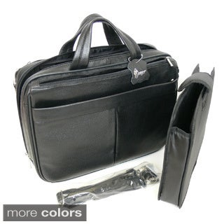 Royce Leather 'Blair' Genuine Leather 15-inch Laptop Briefcase