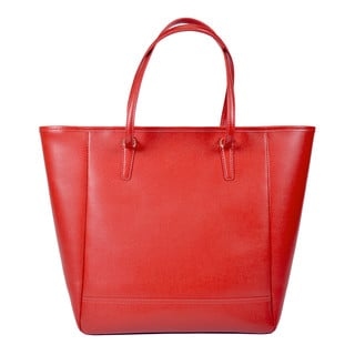Royce Leather '24 Hour Tote Bag' Saffiano Leather Tote Bag