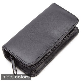 Royce Leather Executive Chromeplated Mini-manicure Kit