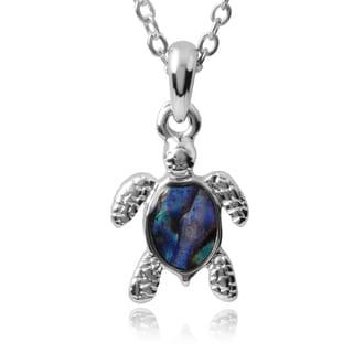 Journee Collection Turtle Pendant