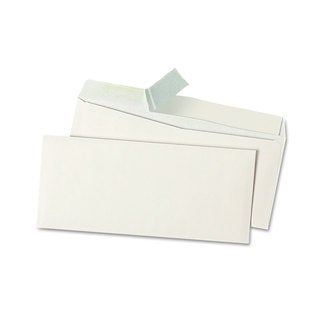Universal One White Peel Seal Strip Business Envelope