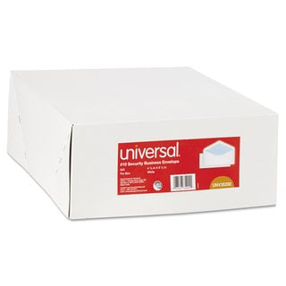 Universal White Security Tinted Business Envelope