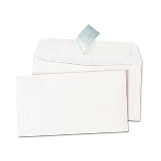 Universal One Peel Seal Strip Business White Envelopes (Pack of 3)
