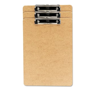 Universal Recycled Brown Clipboard (Pack of 3)