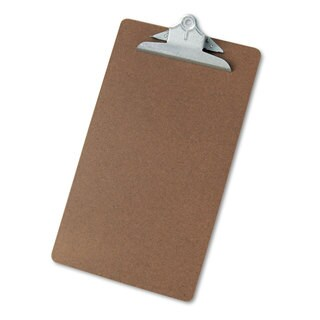 Universal Brown Hardboard Clipboard (Pack of 8)