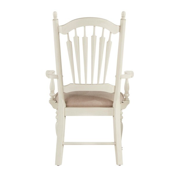 McKay Country Antique White Slat Back Dining Chair (Set of 2) by iNSPIRE Q  Classic - Free Shipping Today - Overstock.com - 17228684 - McKay Country Antique White Slat Back Dining Chair (Set Of 2) By
