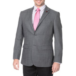 Protomoda Europa Men's Grey Lambs Wool Jacket