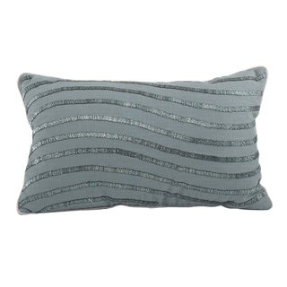 Wavy Down Filled Throw Pillow