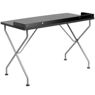 Black/ White Computer Desk