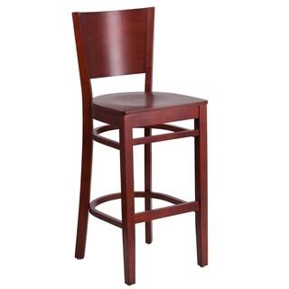 Red Wood Restaurant Bar Stool