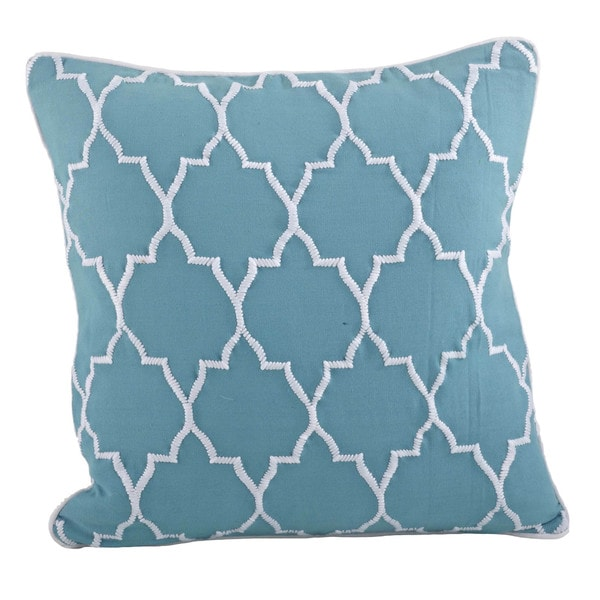 Moroccan 18-inch Down Filled Throw Pillow