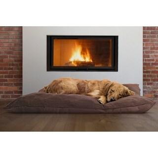 Furhaven Terry Top Throw Pillow Pet Bed
