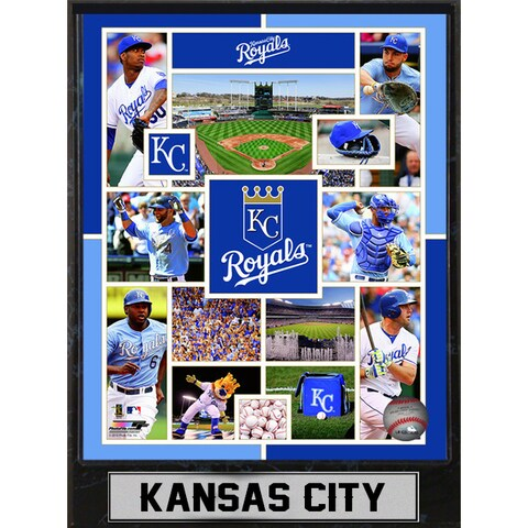 Kansas City Royals 9-inch x 12-inch Plaque