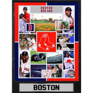 Boston Red Sox 9-inch x 12-inch Plaque