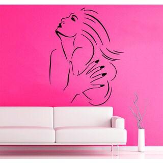 Beauty Salon Sticker Vinyl Wall Art