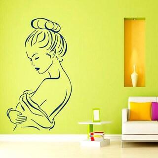 Spa Unwind Relaxation Decor Sticker Vinyl Wall Art