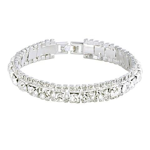 Zodaca Silver Free Size Fashion Women's Beaded Bracelet