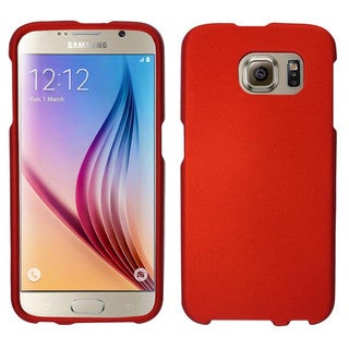 Insten Hard Slim Snap-on Rubberized Matte Phone Case Cover For Samsung Galaxy S6