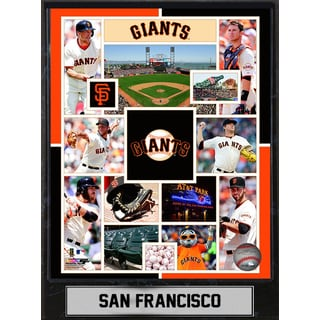 San Francisco Giants 9-inch x 12-inch Plaque