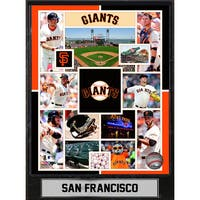 San Francisco Giants 9-inch x 12-inch Plaque