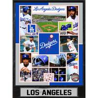 Los Angeles Dodgers 9-inch x 12-inch Plaque