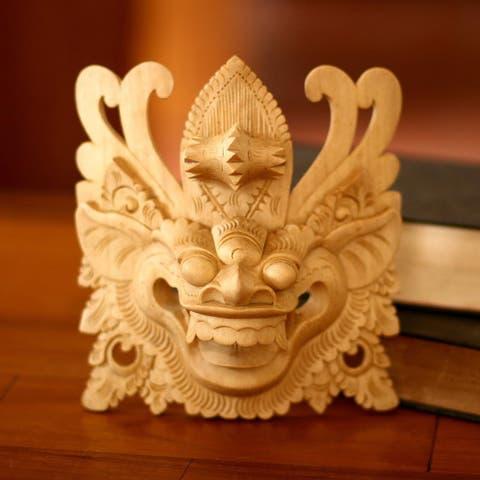 Handmade Barong III Mask (Indonesia)