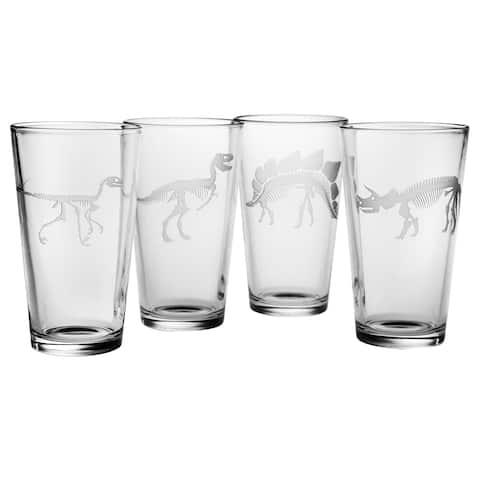 Jurassic Pint Glass (Set of 4)